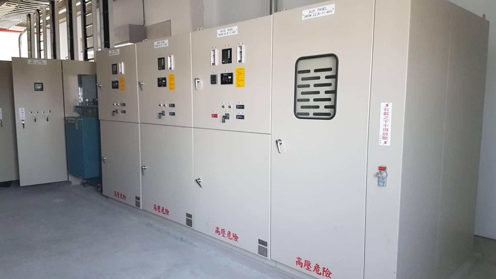 明係事業股份有限公司電力設備建置